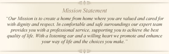 Brindley Healthcare Mission Statement